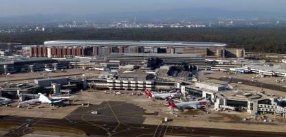 Frankfurt Airport cargo terminal