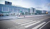 Exterior Koltsovo airport russia