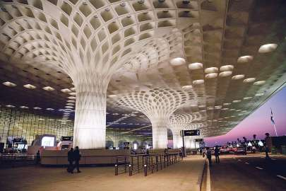 Inside of Chhatrapati Shivaji International Airport