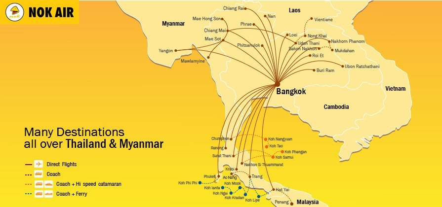 Nok Air | Book Our Flights Online & Save | Low-Fares, Offers & More