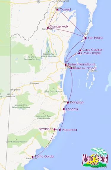 Maya Island Air | Book Flights and Save