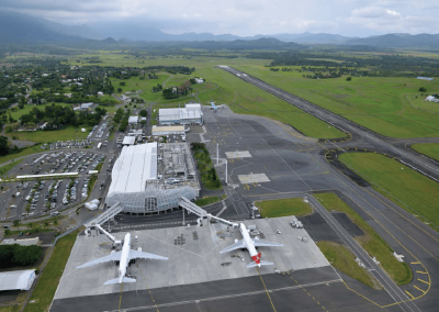 aerial view la tontouta international airport