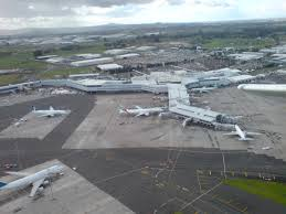 External view of Auckland airport