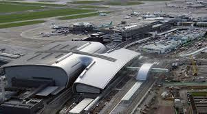 Aerial view of Aer Lingus