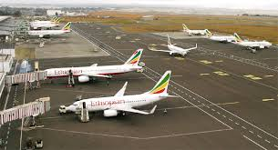 Addis Ababa Bole International Airport, Ethiopian Airlines Plane