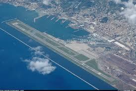 Aerial View of Genoa Cristoforo Colombo Airport