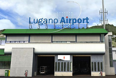 lugano airport terminal switzerland