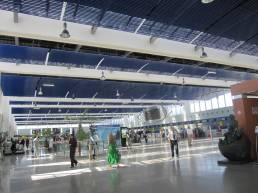 Inside of Mohammed V International Airport