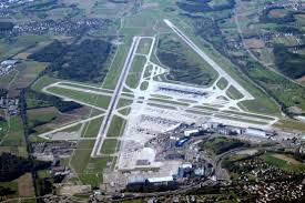Birdseye view of Edelweiss Airport
