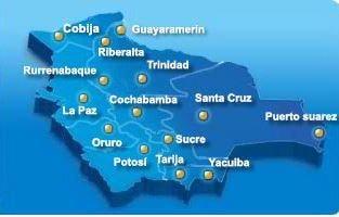 Aerocon route map