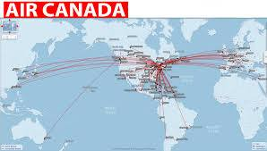 Air canada book our flights online save low fares offers more route map publicscrutiny Choice Image