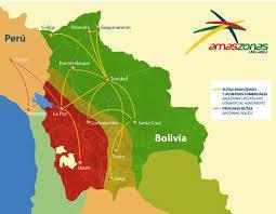 amaszonas route map