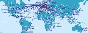iberia route map