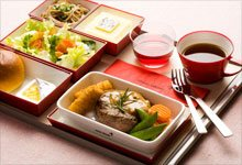airline in-flight meal
