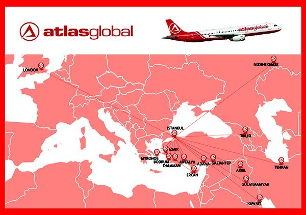 atlasglobal route map