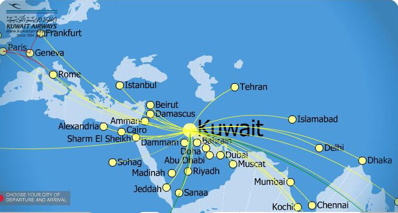 Book kuwait airways flights online save low fares more gumiabroncs Image collections