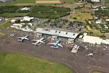 Aerial view of Roland Garros Airport