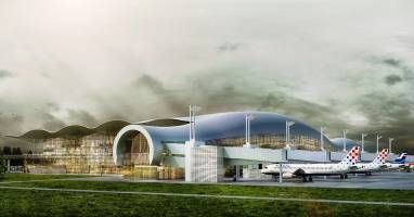 new passenger terminal zagreb airport