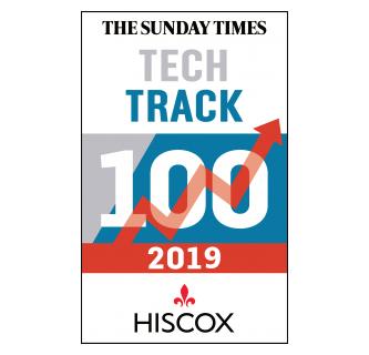 tech track 100 logo