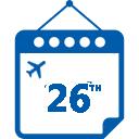 26th Calendar