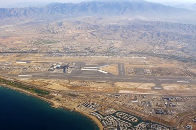 Aerial View of Muscat International Airport