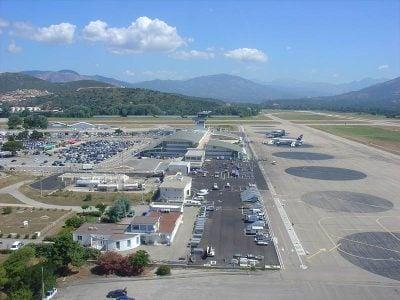 Ajaccio Airport Corsica