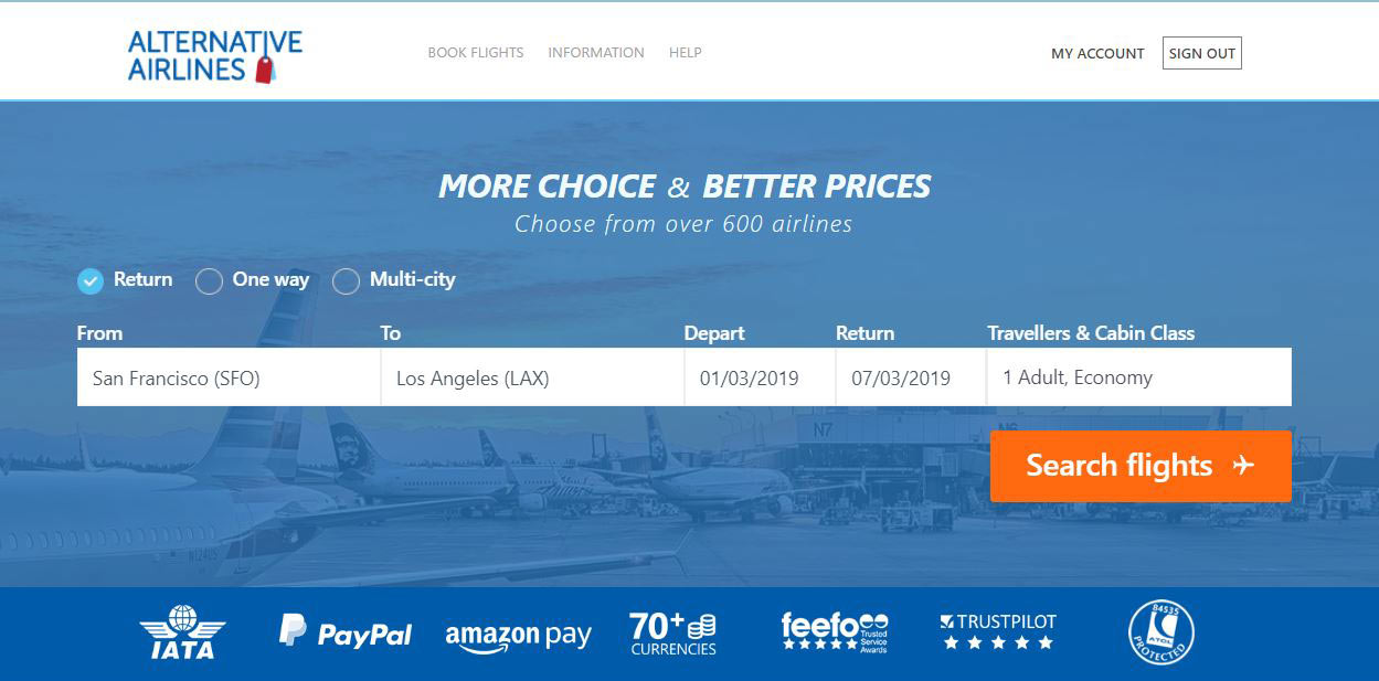 Pay for Flights with PayPal & PayPal Credit