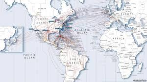 American Airlines Route Map