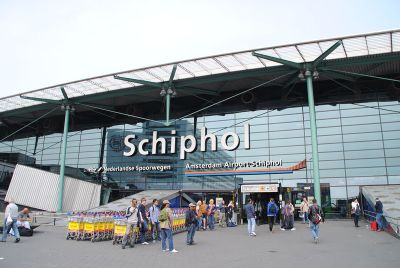 Amsterdam Schipol Airport Entrance