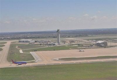 Austin-Bergstrom Runway Aerial View