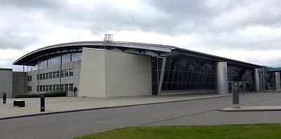 Exterior of Billund Airport