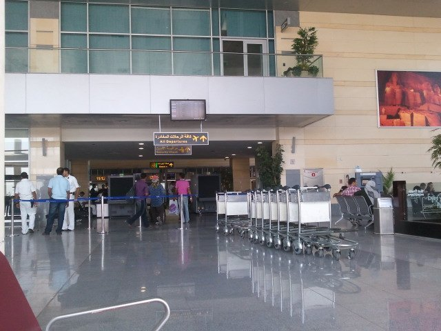 Borg El Arab Airport Check In Desk
