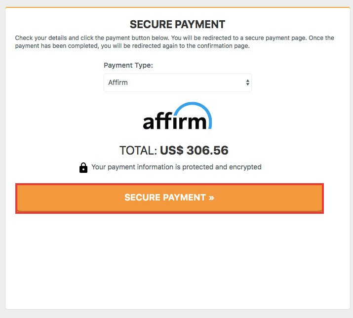 Pay with affirm