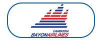 cambodia bayon airlines Logo