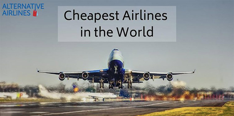 Cheapest Airlines in the World