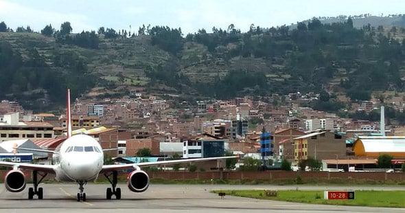 Cusco airport runway