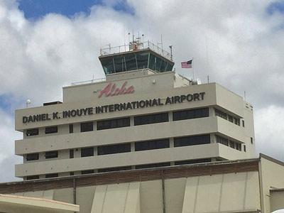 Daniel K. Inouye International Airport honolulu oahu hawaii