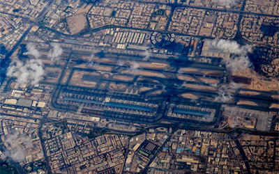 Dubai International Airport Runway