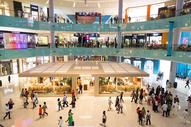Inside of Dubai Mall