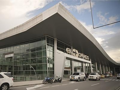 entrance to the el dorado airport