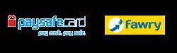 paysafecash and fawry logo