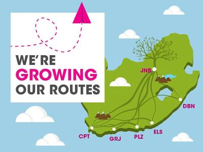 FlySafair new routes - Book now!
