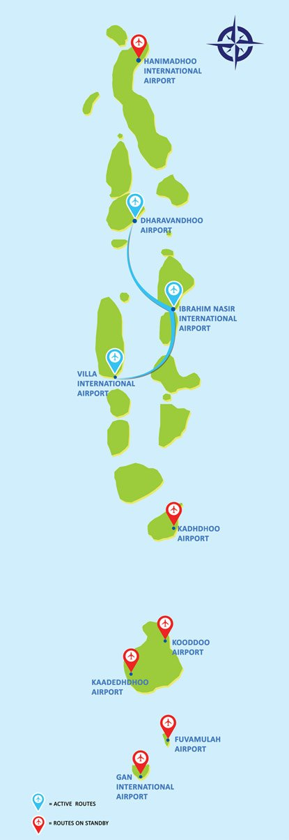 Flyme Route Map