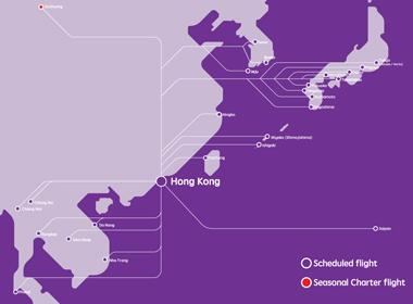 Hong Kong Express  Mapa De Ruta