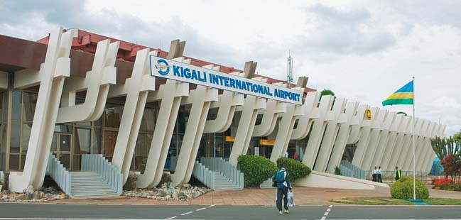 Exterior of Kigali International Airport