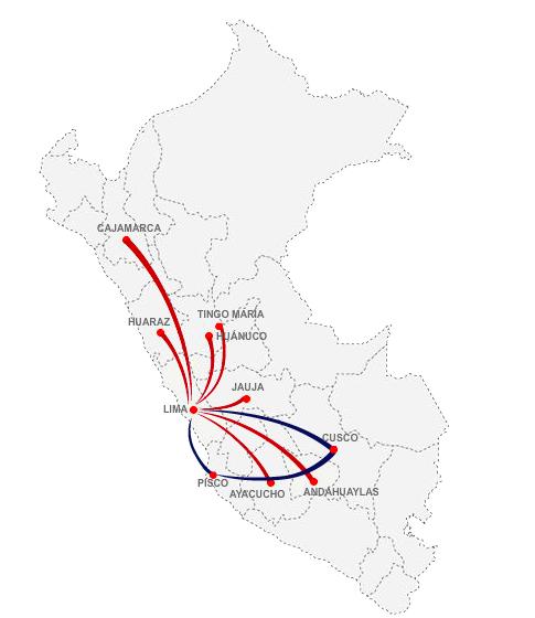 LC Peru Route Map