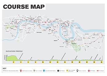 london marathon route map