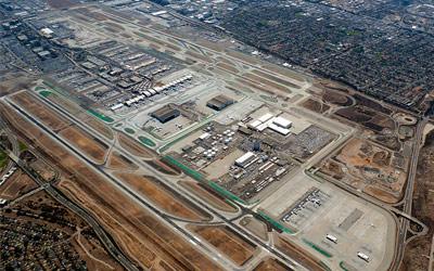 Los Angeles International Airport Runway