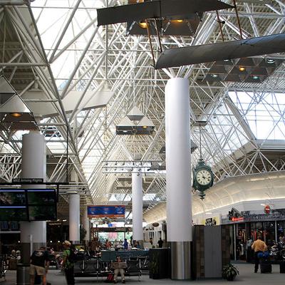 MKE airport interior
