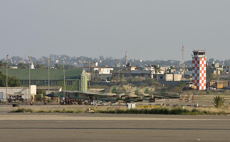 Mitiga Airport Libya